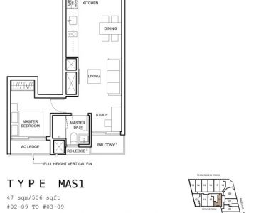 1953-condo-floorplan-1-bedroom-study-mas1